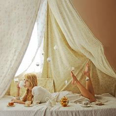Tea party. #tea #party #cups #tent #photo