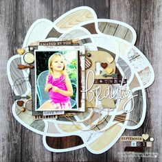 Missy Whidden for MME #wood #scrapbooking love the backing idea