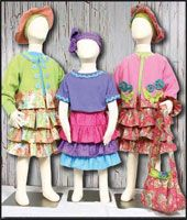 Flirty Skirty Pattern from Whistlepig Creek at KayeWood.com. includes instructions for skirt, hat purse and jacket. Size 2-18 http://www.kayewood.com/item/Flirty_Skirty_Pattern/1720 $8.50