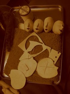 Heads!! by Zelde * Poppets  Lace, via Flickr art doll, photo share, new friends, doll tutori