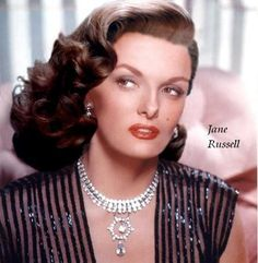 Jane Russell was born on June 21, 1921, in Bemidji, Minn.  Her voluptuous good looks won the attention of millionaire Howard Hughes who cast her in her first film in 1943. Most of her movie roles were designed around her towering physicality and frontal amplitude. She made 23 films in her career. During the 1970s, she was the spokesperson for Playtex bras in TV commercials. Jane Russell died of respiratory failure at her home in Santa Maria, Calif. on Feb. 28, 2011. She was 89.