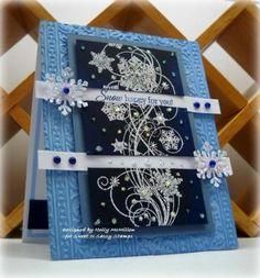Sweet n Sassy Stamps used Snowflake Flourish.