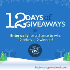 Enter the 12 Days of