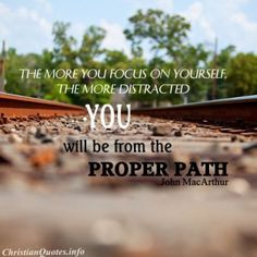 christians, john macarthur quotes, railroad tracks, paths, god, faith, truth, christian quotes, inspirational quotes