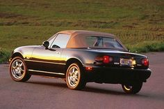 I have a 1997 Miata, favourite car in the summer. All-time