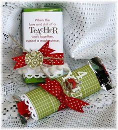 Teacher's appreciation gifts...