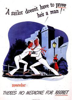 Public health poster (1942).