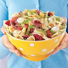 Summer Pasta Salads | Pizza Pasta Salad | MyRecipes.com