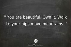 move mountain, thought, walk, quot