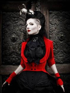 Not exactly steampunk, but lovely! *drools over jacket*