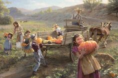 """End of Harvest"" - Art by Morgan Weistling"