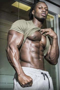 Black muscle. Built