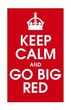 Go Big Red! by Carla Bange on Etsy