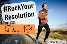 Good morning, everyone! We hope you have a fun Sunday planned. What are you doing to #RockYourResolution today? Fill in the blank: Today, I promise to ______________ because it's good for me! | via @SparkPeople #challenge #goals #resolutions #motivation #health #fitness #wellness