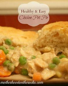 Healthy & Easy Chicken Pot Pie Recipe