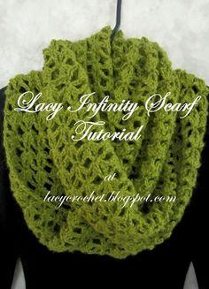 laci infin, laci crochet, crochet scarv, croch para, infinity scarfs, le crochet, scarf tutori, crochet patterns, infin scarf