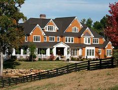 House plans on pinterest craftsman style houses house for Luxury shingle style house plans