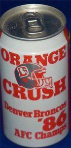 Broncos United in Orange   Details about Denver Broncos Football-NFL Orange Crush Broncos '86 AFC ...