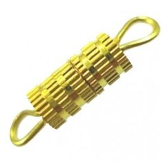 Gold Screw Barrel Clasps 10 pieces - Spoil Me Silly Jewellery