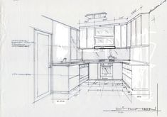 Architectural sketches on pinterest perspective drawing interior d