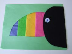 Toucan Animal Craft for Kids.