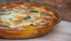 Jalapeno Chedder Quiche with butternut crust