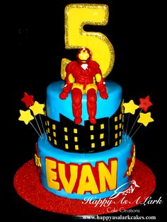 Iron Man cake boy cake, iron man cakes, cake design, birthday cake