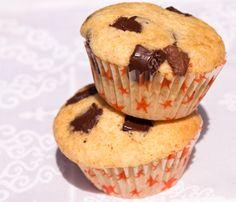 Vanilla Muffins With Chocolate Chips