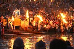 Ganga aarti at Haridwar..