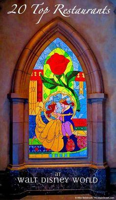 20 Top Restaurants at Walt Disney World.