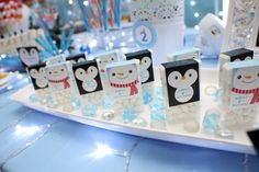 Cute tic tacs for the holidays!  See more party ideas at CatchMyParty.com.  #christmas #partyideas