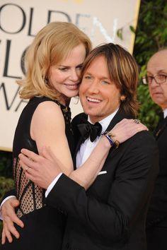 Nicole Kidman in McQueen with Keith Urban