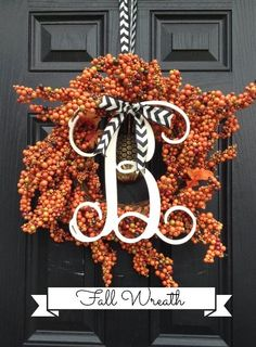 Best DIY Projects: Easy to make bittersweet Fall Wreath.