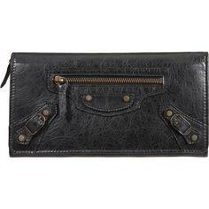 Balenciaga RH Money Wallet 2009 Black