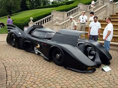 Street-legal Batmobile. With a helicopter turbine under the hood.