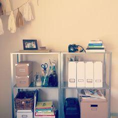 Beautifully organized office