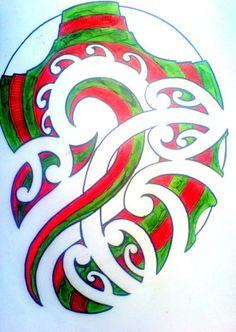 NZ Maori Tribal Art! ♥