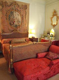 decor, bookham, portico bedroom, polesden lacey, tapestri, bedrooms, french inspir, english, design idea