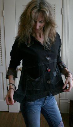 Lagenlook Linen Recycled  Jacket