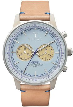 The Nevil was Triwa's way of adding a little more sophistication to a chronographs without losing out on the functionality.