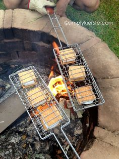 Smores baskets for the firepit