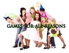 Cool yard games for teens and kids. Great outdoor games for group of teens! www.games-for-all-reasons.com
