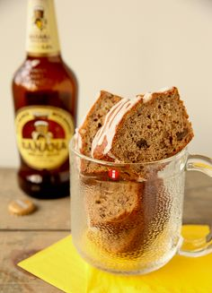 Beer-Nana Bread