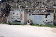 Abandoned Nuclear Submarine Base
