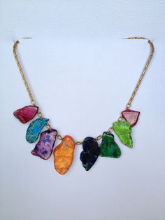 Statement Necklace by Hibiscus03 on Etsy, $50.00