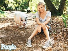 """Daryl Hannah dropped herself off the A-list, focused on environmental activism and retreated to a rural spread near Los Angeles. Now the 52-year-old drives a truck that runs on French fry grease, dotes on her rescue pig Molly. But Hannah, who was diagnosed with autism as a child and suffered from """"debilitating shyness"""" as a result of the disorder, says the best thing in her life now is growing comfortable in her own skin."""