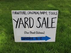 15 Tips + Tricks: How To Have A Successful Yard Sale >> http://blog.diynetwork.com/maderemade/2014/05/30/15-tips-and-tricks-how-to-have-a-successful-yard-sale/?soc=pinterest