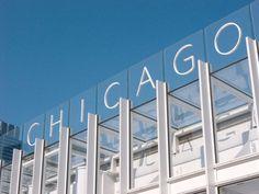 Blue sky Chicago