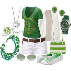 summer casual #6, created by kathy277 on Polyvore