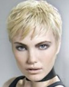 short hair style for women More